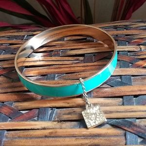 Anne Klein enamel bangle
